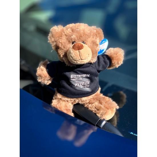 Teddybär - Bremsen macht die Felgen dreckig