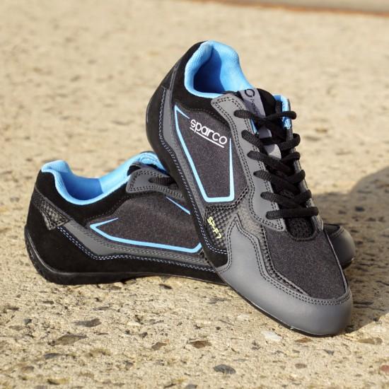 Sneaker Sport Racing - grau/blau