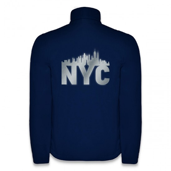 Softshell Jacket New York Style NYC with reflective design - REFLECTION SERIES