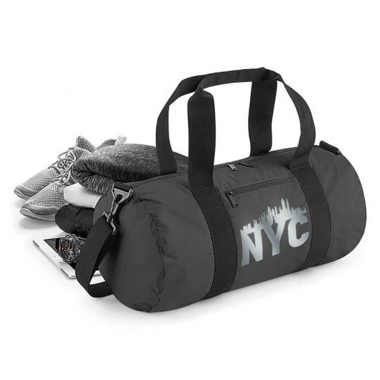 Sports and travel bag - NYC-Style - reflective - REFLECTION SERIES