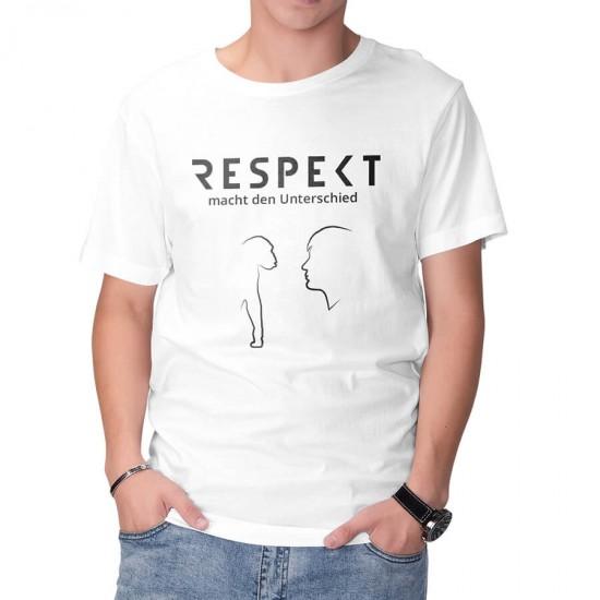 Slogan FUN T-Shirt - RESPEKT macht den Unterschied