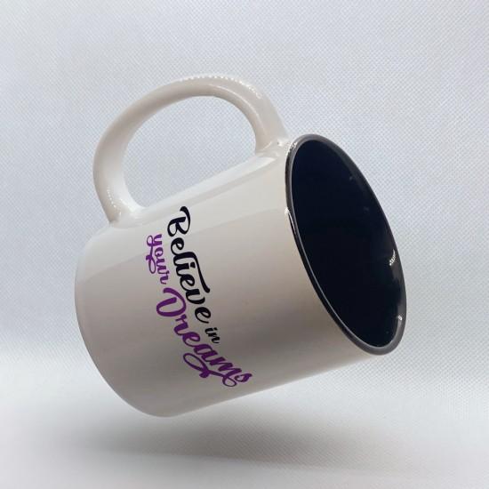 Funny mug printed with unicorn motif