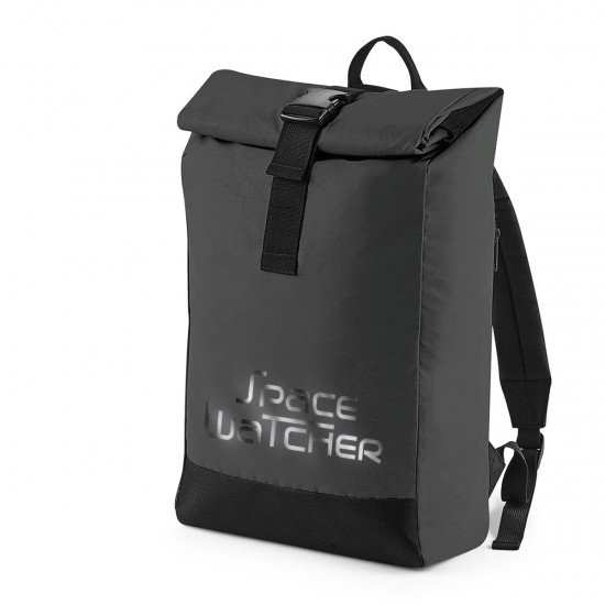spacewatch.global reflective ROLL-TOP BACKPACK SpaceWatcher - REFLECTION SERIES